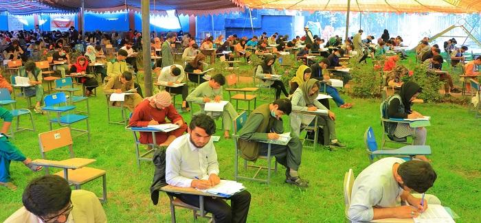امتحان کانکور ورودی سال 1399 ه ش دانشگاه زاول موفقانه برگزار گردید